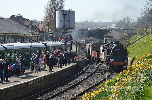 Swanage Station by Andy Thompson