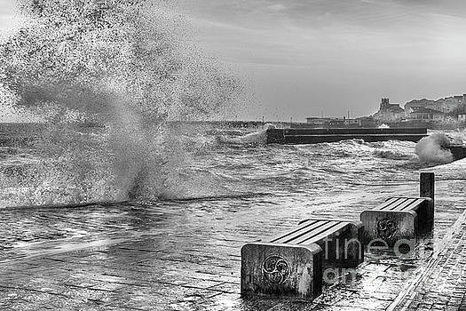 Swanage Storm by Linsey Williams