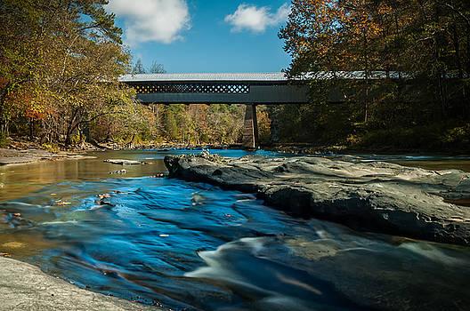 Swann Covered Bridge by Phillip Burrow