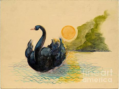 Swann on the Lake by Gedda Runyon Starlin