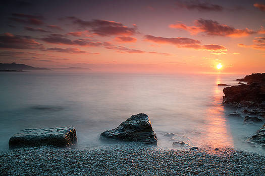 Swanpool Sunrise by Claire Wilson