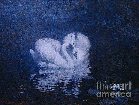 William Robinson Leigh - Swans