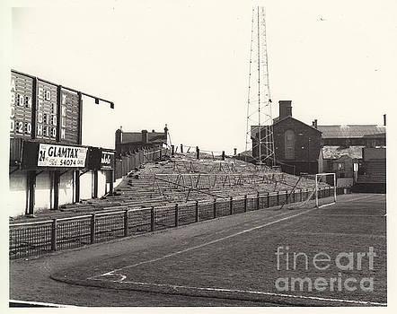 Legendary Football Grounds - Swansea - Vetch Field - East Terrace 1 - BW - 1960s