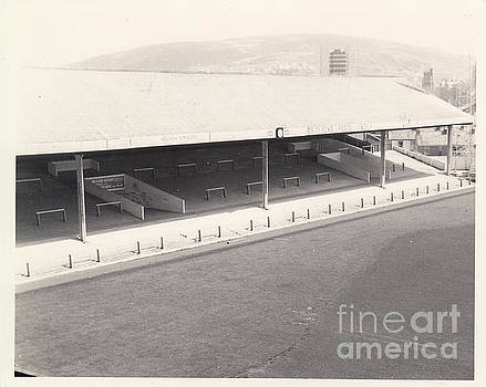 Legendary Football Grounds - Swansea - Vetch Field - South Stand 1 - BW - 1960s