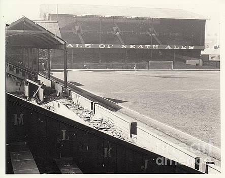 Legendary Football Grounds - Swansea - Vetch Field - West Terrace 2 - BW - 1960s