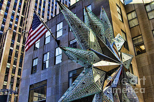 Chuck Kuhn - Swarovski Star Tree Top NYC I