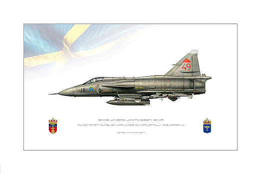 Swedish JaktViggen by Peter Van Stigt