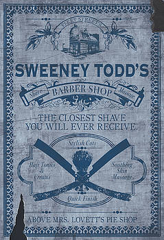 Sweeney Todd's Barber Shop by Christopher Ables