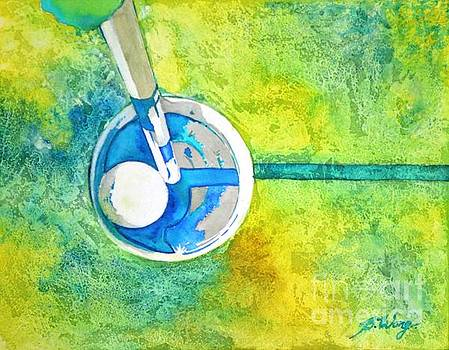Sweet Anticipation - Golf series by Betty M M Wong