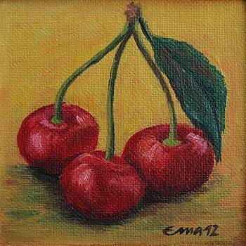 Sweet cheries by Ema Dolinar Lovsin