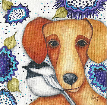 Sweet Chickadee by Deb Harvey