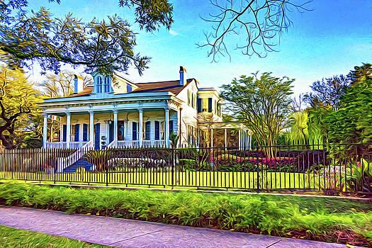 Steve Harrington - Sweet Home New Orleans - Spring Garden 2 - Paint