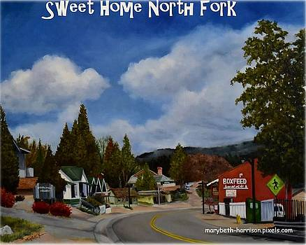 Sweet Home North Fork Logo by Mary Beth Harrison