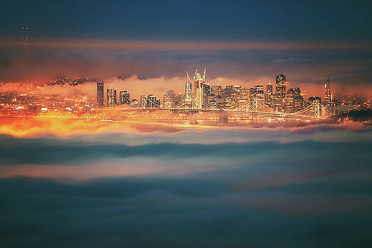 Sweet Pre Dawn Glow, San Francisco by Vincent James