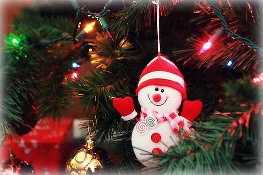 Sweet snowman by Trisha Scrivner