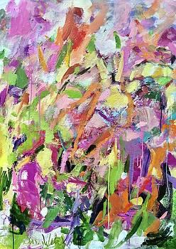 Sweet Summer Garden by Sandy Welch