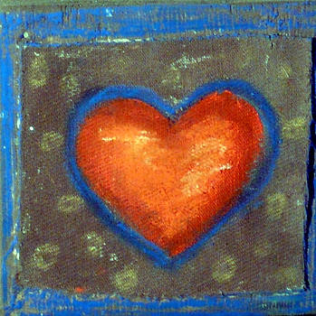 Sweet Tangarine Heart by Jane Clatworthy