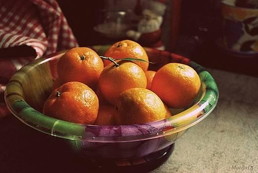 Sweet tangerines by Marija Djedovic