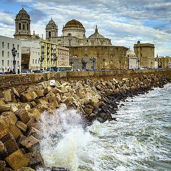 Swells on the Cathedral Cadiz Spain by Pablo Avanzini