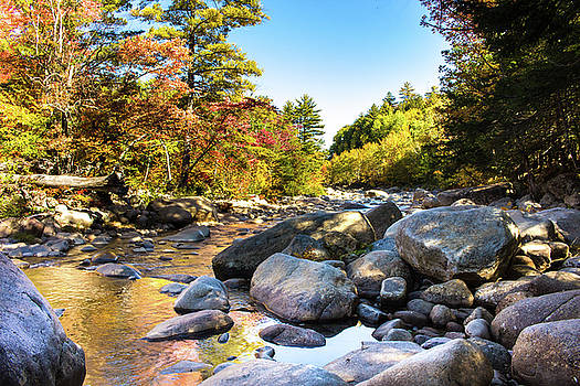 Swift River Fall Color by Jeri Sawall