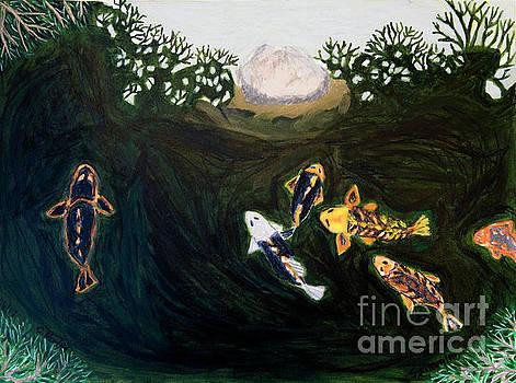 Swimming under the Trees by Cora Eklund