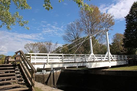 Valerie Kirkwood - Swing Bridge at Upper Nicholson