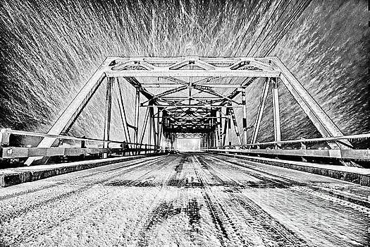 Swing Bridge Blizzard by DJA Images