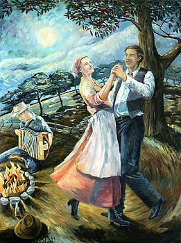 Swing Lady Home by Paula Blasius McHugh