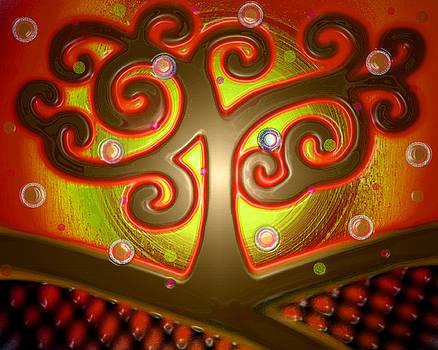 Swirl Tree 1 by Valentina Kross