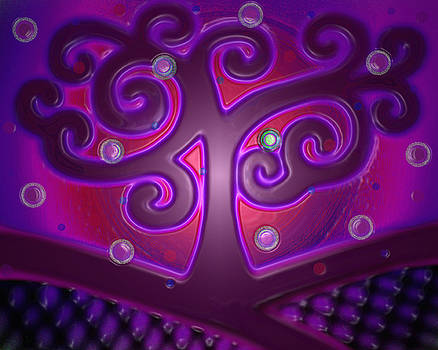 Swirl Tree 2 by Valentina Kross