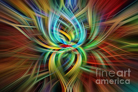 Swirling Abstract by Barbara Youngleson