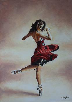 Swirling Dancer by Andy Lloyd