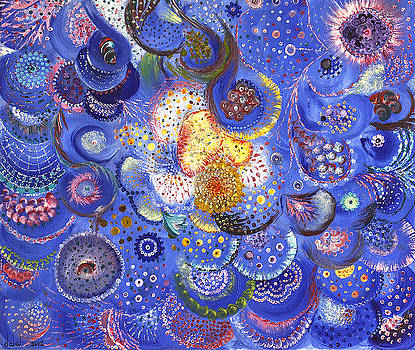 Swirling Energy by Dalal Farah Baird