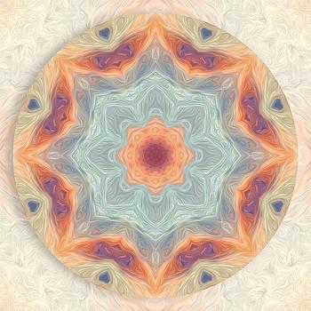 Swirls of Love Mandala by Beth Sawickie