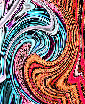 Swirly Abstract 7179A by Kae Cheatham