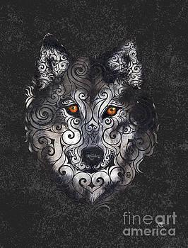 Swirly Wolf by Carolina Matthes