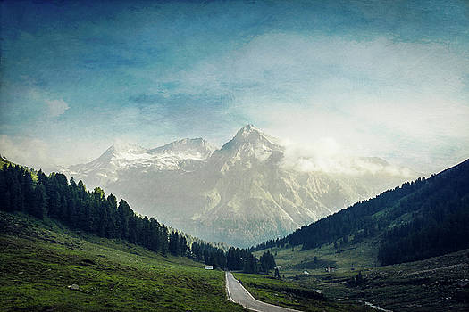 Swiss Alps near Passo di Spluga by Dirk Wuestenhagen