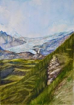 Swiss Glacier by Dai Wynn