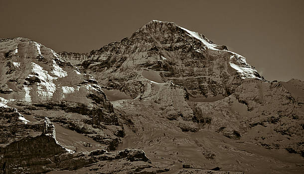 Swiss Mountain Landscape by Frank Tschakert
