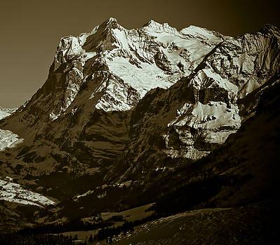 Swiss Mountainscape by Frank Tschakert