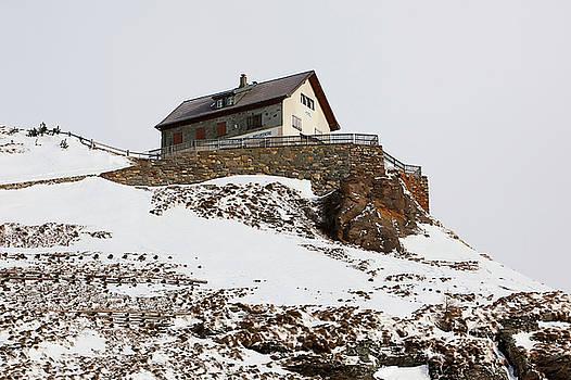 Art Block Collections - Swiss Mountaintop Hotel