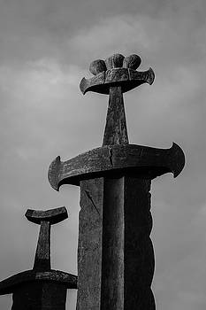 Swords in Rock by Harald Ole Hansen