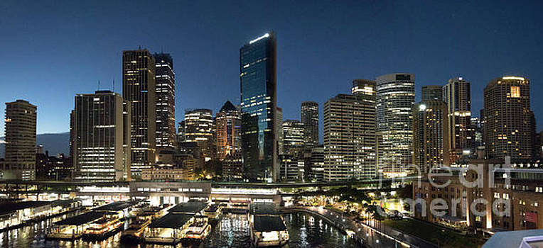 Sydney Circle Quay Skyline by Jim Chamberlain