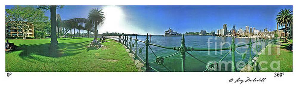 Sydney Australia Panorama by Larry Mulvehill