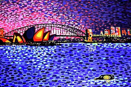 Sydney Harbour by Alan J Hogan