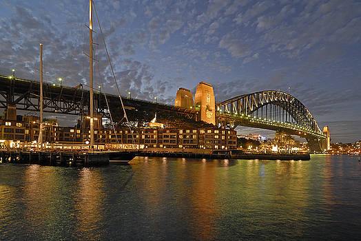 David Iori - Sydney Harbour Bridge at Dusk