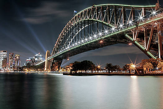 Sydney Harbour Lights by Smoked Cactus