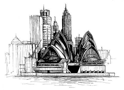 Sydney by Katerina Kopaeva