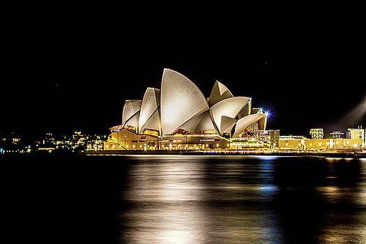 Sydney Opera House at Night by Kenny Thomas