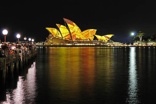 David Iori - Sydney Opera House Vivid Sydney Festival